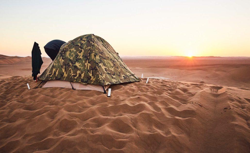 Silence of desert